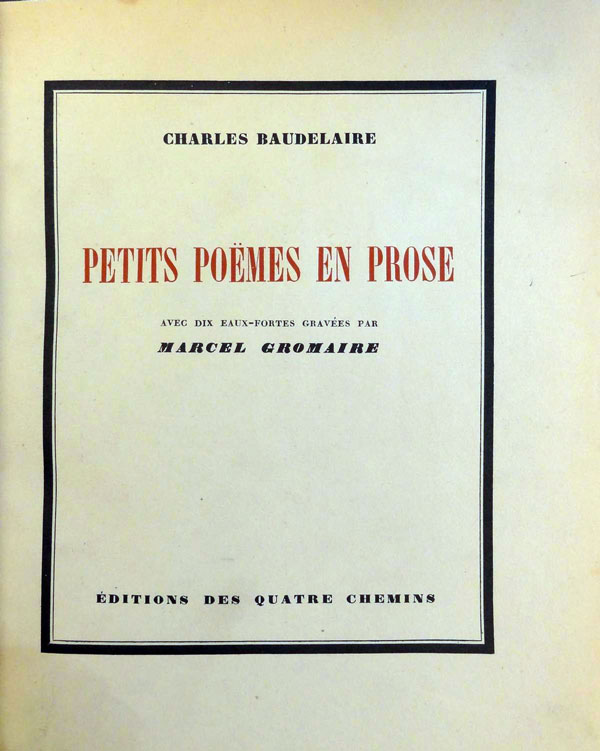5.-Beaudelaire-Charles--Gromaire-Marcel---Petites-Poemes-3