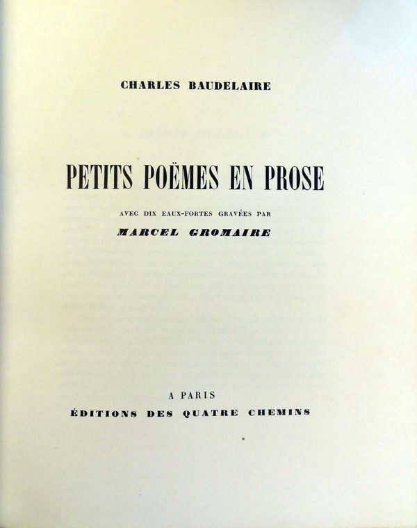 5.-Beaudelaire-Charles--Gromaire-Marcel---Petites-Poemes-4