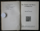 Bertrand Russell, The Practice and Theory of Bolshevism