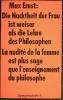 Max Ernst: Spiegelschrift 4