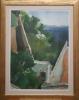 H. Ternen - Maler 20. Jh., Griechenland, Blick auf eine Bucht - o.J.