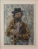 Helmut Siesser: Alter Mann in Algeciras - 1985
