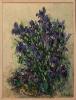Helmut Siesser: Blauer Irisstrauss - 1994