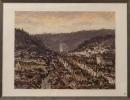Helmut Siesser: Blick auf Stuttgart-Heslach 1990