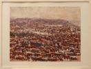 Helmut Siesser: Blick auf Stuttgart III - 1984