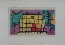 Paul Klee, Gelbes Haus 2 - 1940