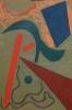 Künstler des 20. Jhdt., abstrakte Komposition –o. Jhr.