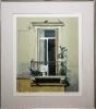 Kufits - Maler 20. Jh., Griechenland, Balkon mit Tauben - o. J.