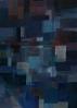 Maler der Moderne (20 Jhdt.),  Komposition blau II - 20. Jhdt.