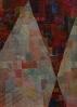 Maler der Moderne (20 Jhdt.),  Komposition rot I - 20. Jhdt.