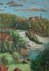 Bernhard Heinrich Buss Am Rheinfall