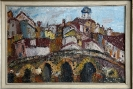 Expressionist (20. Jh.), Stadt in Italien – o. Jhr.