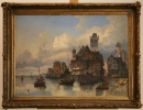 V. Weber, Hafen - 1862